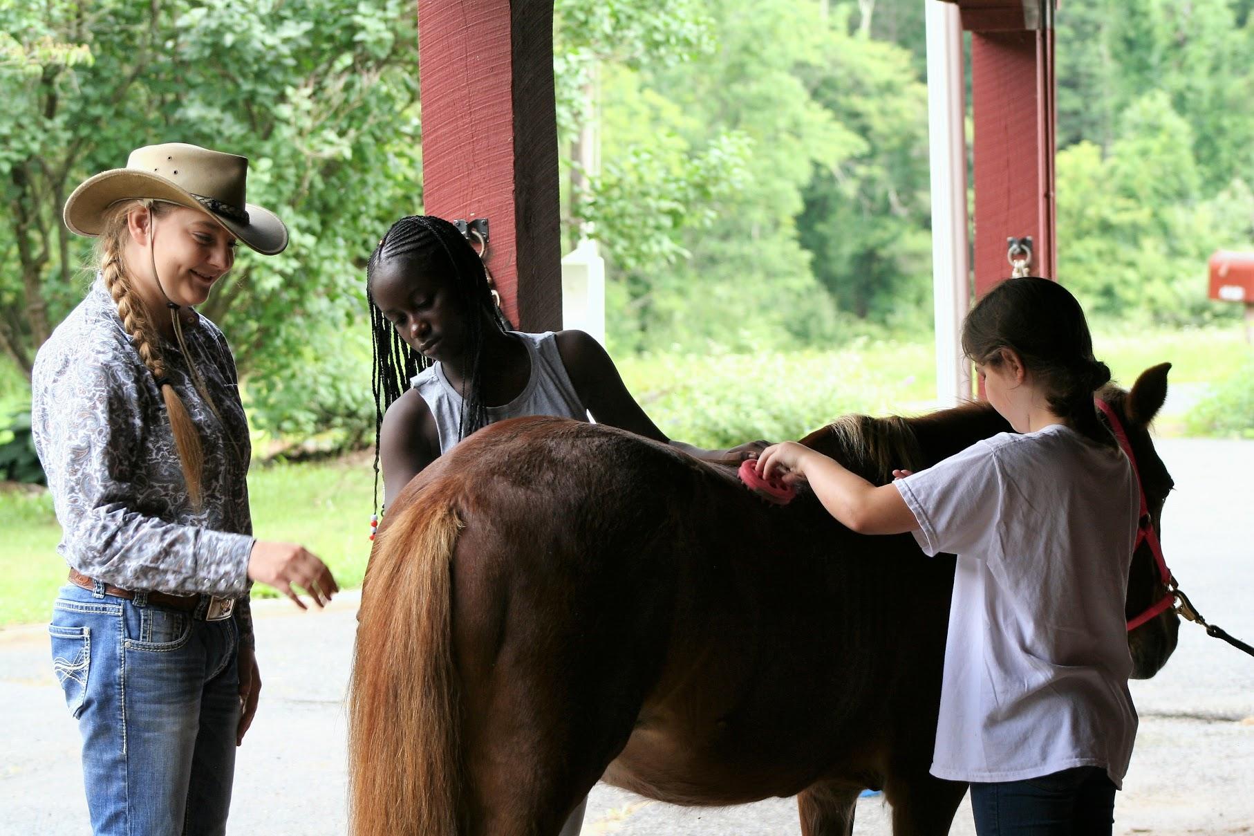 Grooming at Living Streams Ranch